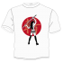 T-Shirt-Samurai-girl