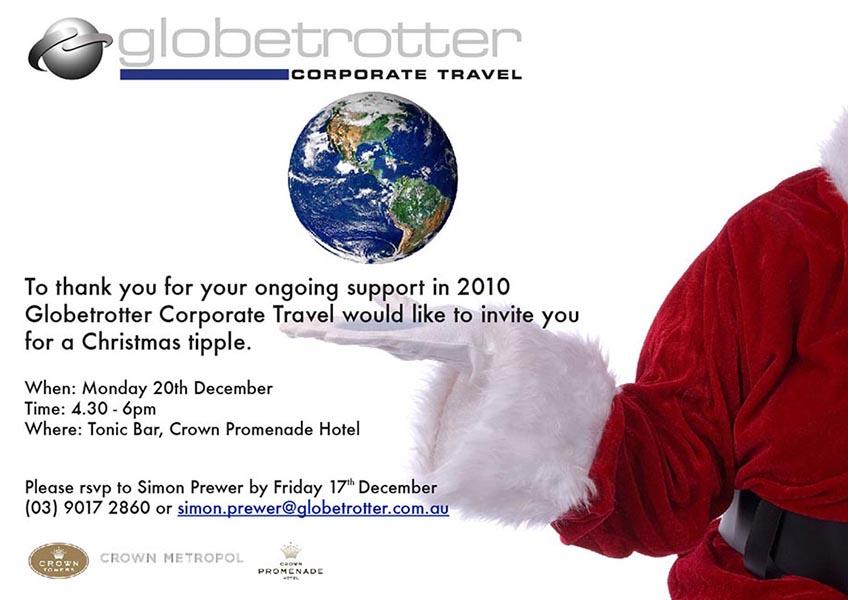 Globetrotter invite