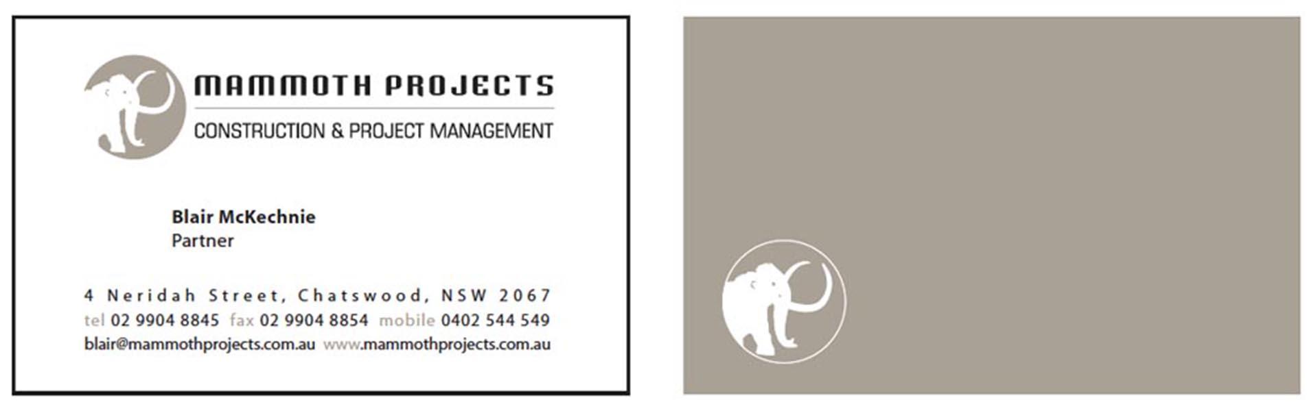 Mammoth BusinessCards