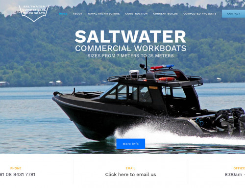 Saltwater Commercial Website