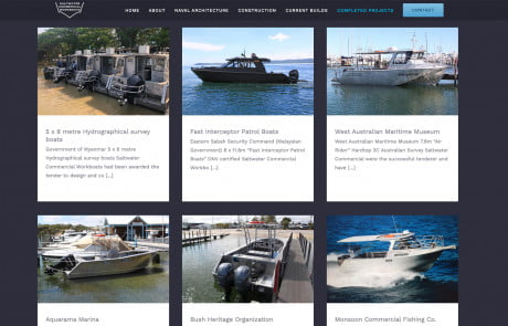 Saltwater Commercial Projects